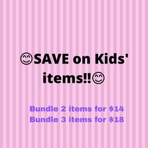 💲💲SAVE ON pre-owned KIDS' ITEMS💲💲